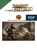 Star Wars Saga Edition - Core - Dotes de Equipo