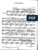 Albumblatt - Reger Klavier