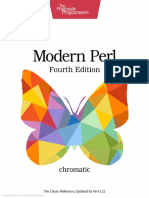 Modern Perl Fourth Edition