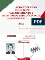5. PPT Plan Regional de Asesoramiento y Monitoreo Pedagógico