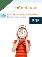 Livro Do Clube Slim Down