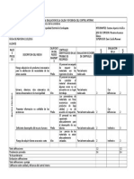Matriz Para La Evaluacion de La Calida y Eficiencia Del Control Interno
