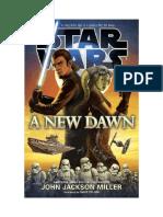 Star WarsUn Nuevo Amanecer