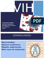 VIH etiologia diagnostico tratamiento