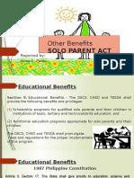 REPORT in Social Legislation