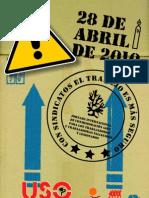 28 Abril Jornadas Seguridad y Salud