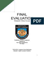 C Lopez TPD - Final Evaluation - Primary