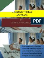 Timbang terima pasien