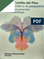 Introduccion a La Psquiatria 1, Problemas generales psicopatologia - Carlos Castilla Del Pino