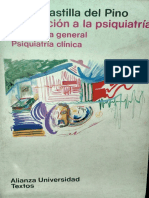 Introduccion a la Psiquiatria 2, Psiquiatria general, psiquiatria clinica - Carlos Castilla Del Pino
