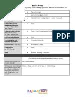 seniorprofile--cheatsheetforresumesapplicationslettersofrecetc