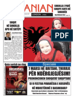 The Albanian 1 march 2010