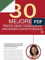 SPANISH 30 Consejos Para Obtener Ms Clientes Potenciales