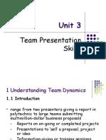 Team Presentation Skills