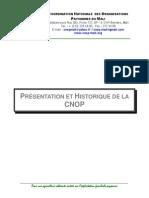 Présentation et historique de la CNOP