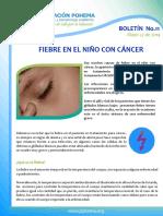 Boletin 11 Fiebre Niño Cancer