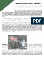 Reportaje Del Municipio de Chicontepec
