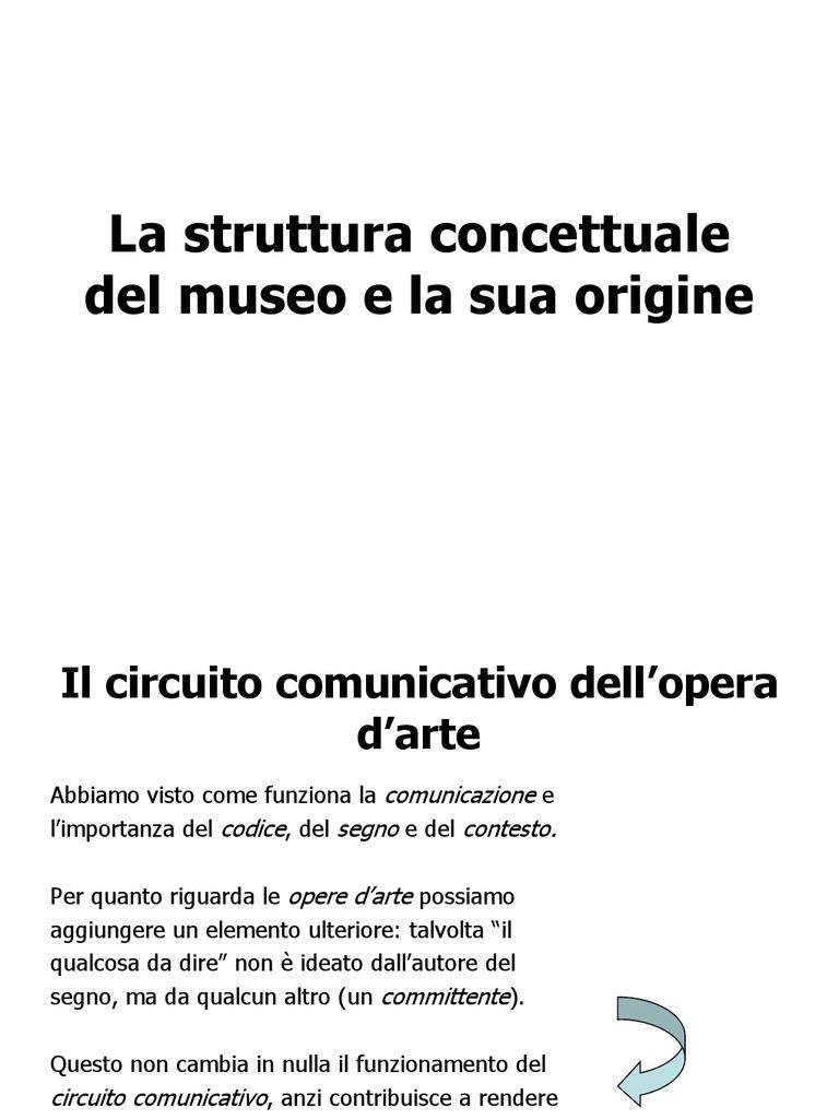 Circuito Comunicativo : Comunicare nel museo 2