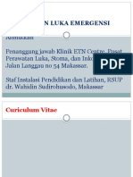 Manajemen Luka Emergensi-Alimuddin
