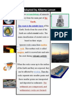 CLIL Adapted Text- Rocks- Alberto Lanzat