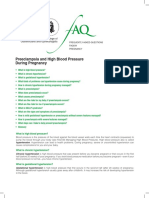 Preeclampsia and High Blood Pressure ACOG