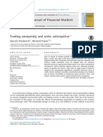 Trading Anonymity and Order Anticipation10.1016@j.finmar.2014.07.002