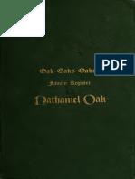 Oak, Henry Lebbeus - Oak - Oaks - Oakes Family Register Nathaniel Oak of Marlborough, Mass and Three Generations of His Descendants in Both Male and Female Lines (1906)