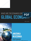 'A Volatile Global Economy' - Lecture at BIDTI