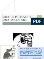 addressing poverty and populations