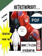 big hero 6 poster 2016