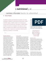 La Transicion Nutricional y Cambio Mundial Hacia La Obesidad
