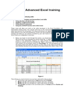 MS Excel Advancedwwe