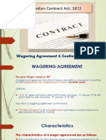 Wagering Agreement & Contingent Contract-PDF