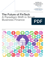 The Future of FinTech Paradigm Shift Small Business Finance Report 2015