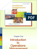 Operations Management by William j Stevenson (2)