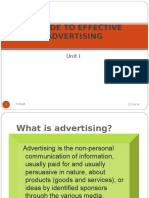 A Guide to Effective Advertising