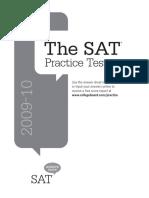SAT Prep Booklet 0910v