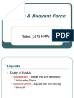 liquids Difference between Buoyancy