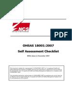 OHSAS18001SelfAssChecklistrev2