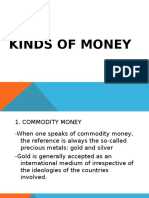 Kinds of Money