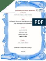 CONSECUENCIAS DE CONFUNDIR APENDICITIS AGUDA CON  AFECCIONES EN EL ÁREA ABDOMINAL