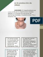 Alteraciones en La Producción de Hormonas Tiroideas