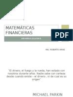 MATEMÁTICAS FINANCIERAS generalidades.pptx
