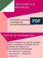 Investigacion Bibliografica Documental