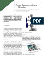 Mainboard, Supercomputadores y Memorias