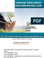 HCS 438 Tutorial Education Expert - Tutorialtutorial.com
