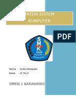 Materi Sistem Komputer