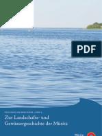 Zur Landschafts- und Gewässergeschichte der Müritz