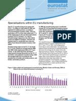 Eurostat - Statistics in focus 62/2009 - Specialisations within EU manufacturing