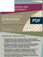 Crafting & Executing Strategy Chapter 1 Summary